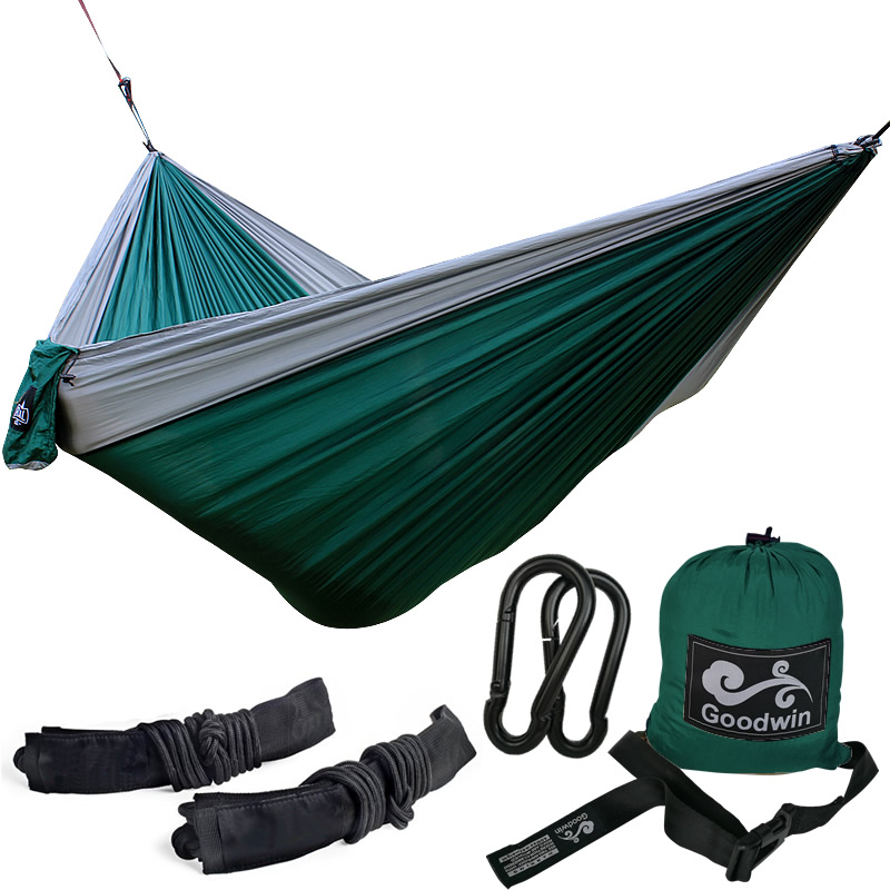 Outdoor Parachute Nylon Camping Hammock 2 Person Flyknit Hamaca Garden Hamak Hanging Bed Leisure Hamac джефф джонс бэтмен земля 1 книга 1