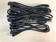 Free Shipping 10pc/lot DMX Cable 1M 20M Length Stage Light Cable Wires with 3 Pin Signal XLR Male to Female Conn