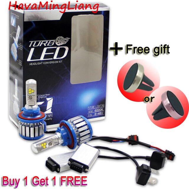 LED H4 H7 LED H13 H11 Car LED Lights HB4 H1 9004 80w 8000lm Auto