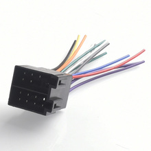car female iso radio wire wiring harness adapter connector adaptor plug for  vw jetta golf passat