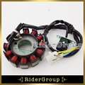 12 Coils Poles Ignition Stator Magneto Rotor For GY6 125cc 150cc Engine Parts Chinese Moped Scooter Go Kart ATV Quad 4 Wheeler