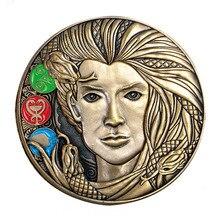 Custom Metal 3D Coin cheap custom Bronze Challenge oem coins