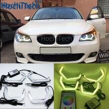 Wifi RGB многоцветный M4 в культовом стиле светодиодный светильник с ангельским глазом для BMW E60 5 серии XENON 528i/535i, Pre LCI и LCI