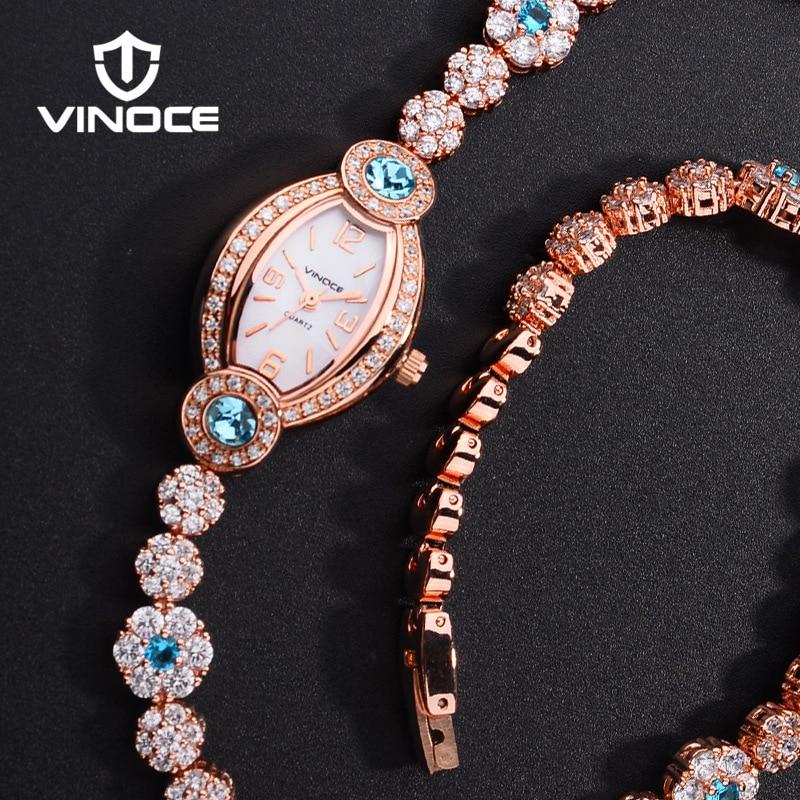 Latest Fashion Gift for Women Crystal bracelet Watch Charming Ladies Wristwatch Rose Gold& Silver Japan Quartz Movement
