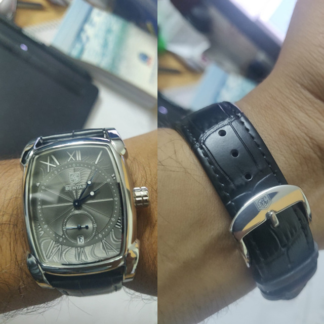 Square Men Square Watch