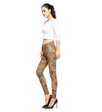 Leopard Printed leggings Women Fashion Sexy Leggins Slim High Waist Leggings Woman Pants