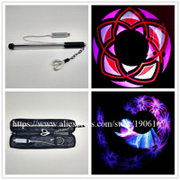 Wecool New Design Cheap Price Program Acrylic Led Sticks 40 Poi Led Nunchakus With USB Can