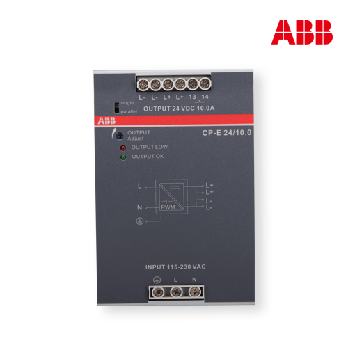 ABB switching CP series single phase switching 24/10.0 CP-E полюс abb 1sca105461r1001
