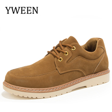 New Brand 2017 YWEEN Free Shipping Men's Casual Shoes,Man Shoes Work Safety Boots, Men Flats Men Work & Safety Shoes