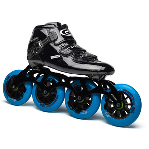 Image 4 - Cityrun Vulcan Speed 인라인 스케이트 탄소 섬유 전문 경기 스케이트 휠 레이싱 스케이트 Patines 유사 Powerslide