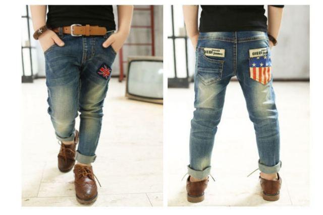 Новая мода подростков мальчиков джинсы детская одежда джинсы для мальчиков Детские джинсы 3-10У infantil disfraz J0180