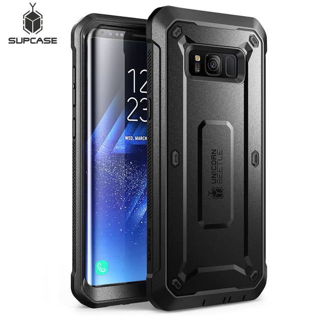 """SUPCASE For Samsung Galaxy S8 Case 5.8"""" Unicorn Beetle UB Pro Full Body Rugged Holster Cover WITHOUT Built in Screen Protector"""