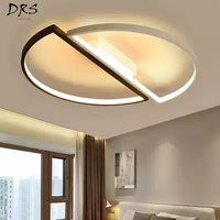 Creative Personality Ceiling Lamp Warm Romantic Led Ceiling Lights Simple Modern Main Bedroom Lamp Room Library Lamp