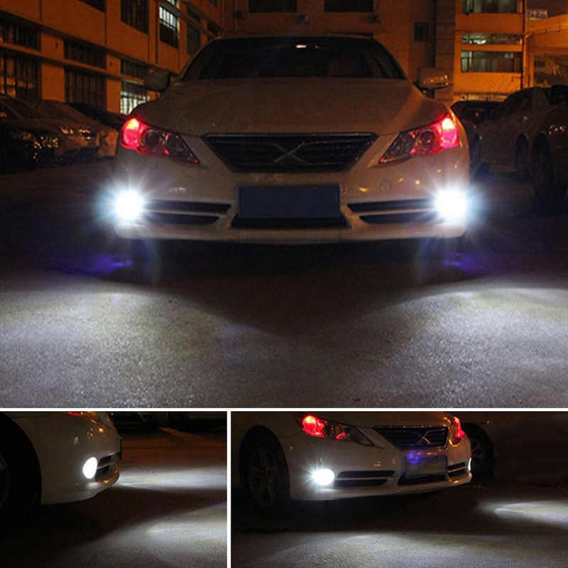 Katur 2x H11 H8 H16 LED Car Fog Bulbs HB3/9005 9006/HB4 5202 H7 High Power 2700Lm 3030 27 SMD Driving Running Light LED Lamp