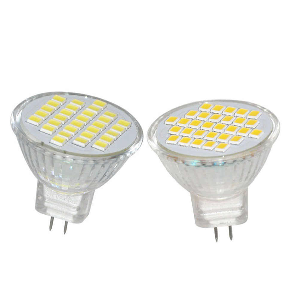 MR11 LED JYL 1PCS 12V 220V White Warm White 30 SMD Cabinet Spot Light Lamp Bulb Spotlight 3W 300LM