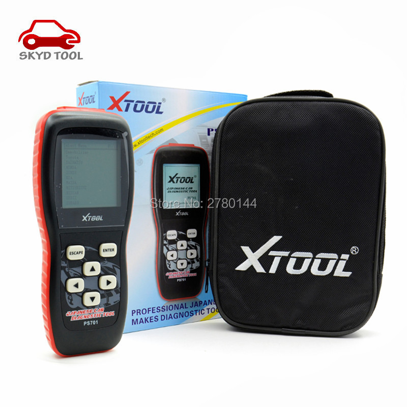 Good quality Original Xtool PS701 JP Diagnostic Tool PS 701 OBD2 Diagnostic for Japan Cars Scanner by Fast Express Shipping