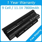 New 9 cell laptop battery for dell Inspiron M5010 N5030 N5010 N5110 N7010D 0J4XDH 0383CW W7H3N 312-1201 312-1205
