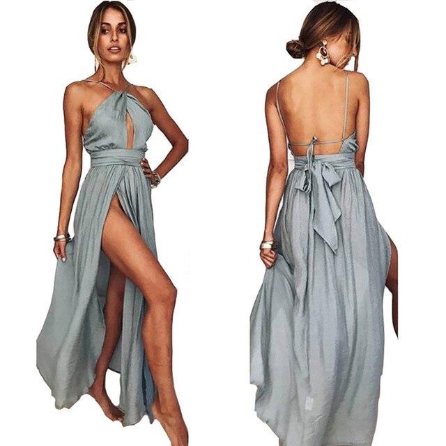 Sexy Women Multiway Wrap Convertible Boho Maxi Club Red Dress Bandage Long  Dress Party Bridesmaids Infinity Robe Longue Femme 7d0a6461718c