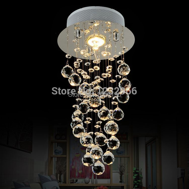 Luxury Ceiling Light For Living Room Surface Mounted Abajur Crystal Lamp Ceiling Novelty bedroom ceiling lighting AC110-240V