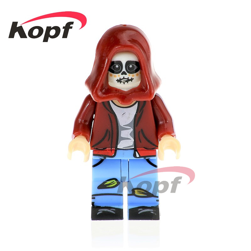 Tmgt Single Sale Miguel Hector Rivera Movie Coco Day Of The Dead Holiday Skeleton Skull Building Blocks Kids Gift Toys Toys & Hobbies