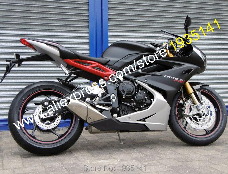 Hot Sales,Body Kit For Triumph Daytona 675 2013-2015 Parts Daytona675 13 14 15 Black Gray Bodywork Sportbike Motorcycle Fairing