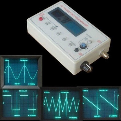 1HZ-500KHZ DDS Functional Signal Generator Source Module Frequency Counter Sine + Square Triangle Sawtooth Waveform