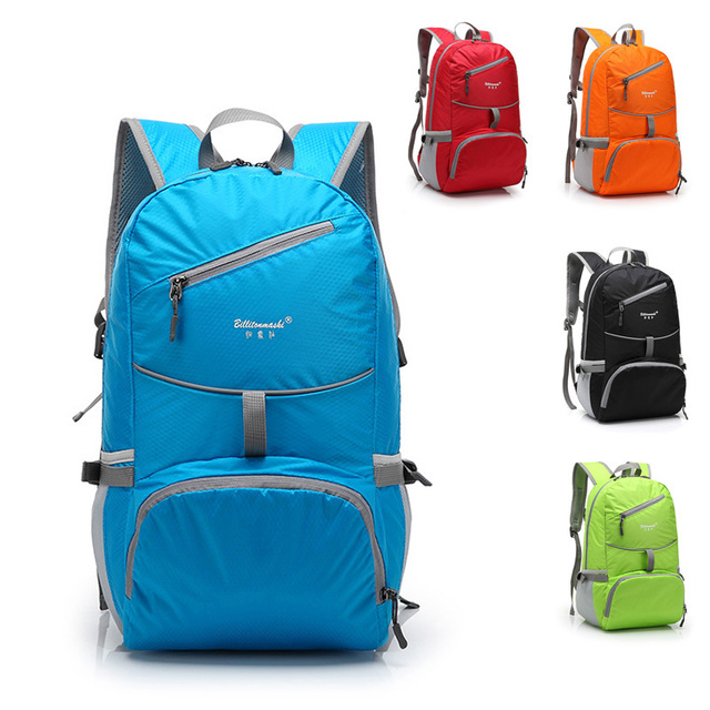 ENKNIGHT Nylon folding waterproof Backpack rucksacks Road bag Knapsack Riding Backpack Ride pack