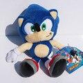 """5 шт. 9 """"23 см Синий Sonic the Hedgehog Плюшевые Игрушки Мягкие Куклы Для Детей и Бесплатной Доставкой"""