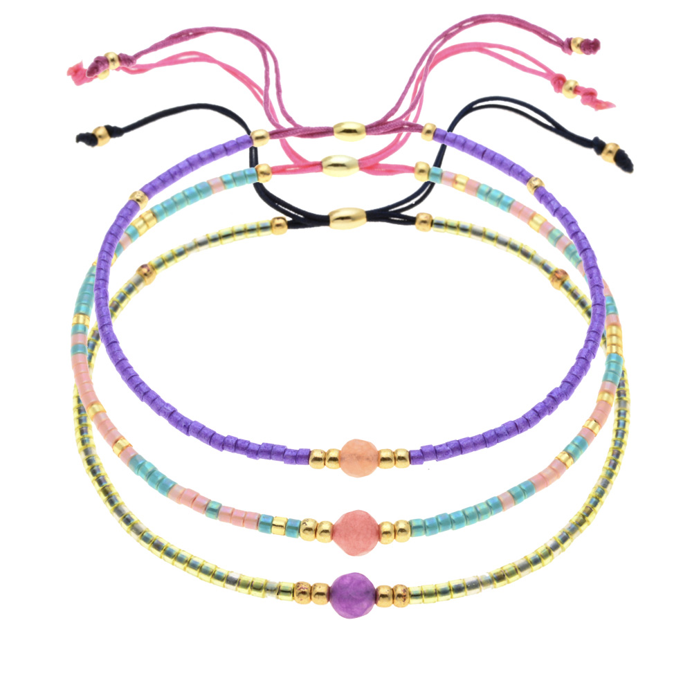 Bracelets With Miyuki Delica Seed Beads