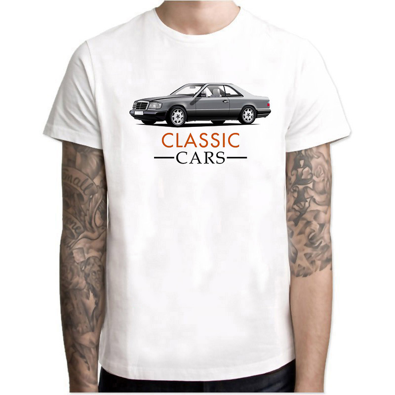 2019 Mens Hip Hop Rock Hipster T Shirt Casual Tshirts Top Tees Dodge Stack Of Mercedes W124 Car