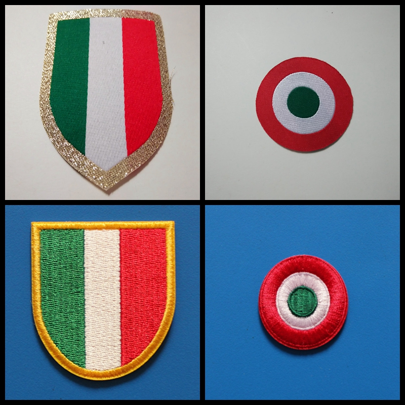 Shield Patch Embroidered Thermoadhesive Flag Coat of Arms Portugal Emblem