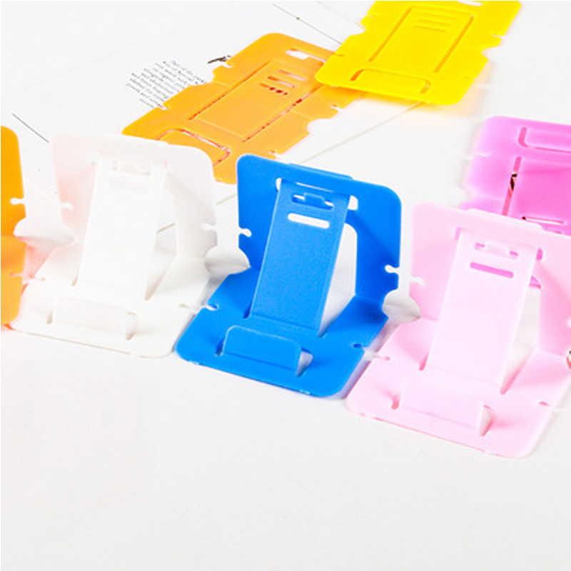 Buyruo портативный мини мобильный держатель телефона складной стол стенд держатель 3 градусов Регулируемый универсальный для Iphone и Android телефон