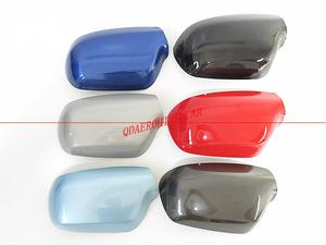QDAEROHIVE Side Mirror Covers Caps chrome door mirror cover high quality car styling for Mazda 3 M3 2003-2009(China)