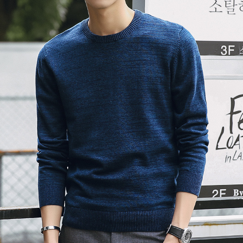 9008841e7f2101 Männer Pullover 2019 Herbst Winter Mode Casual Slim Fit Baumwolle Strick  Herren Pullover Pullover Männer Marke