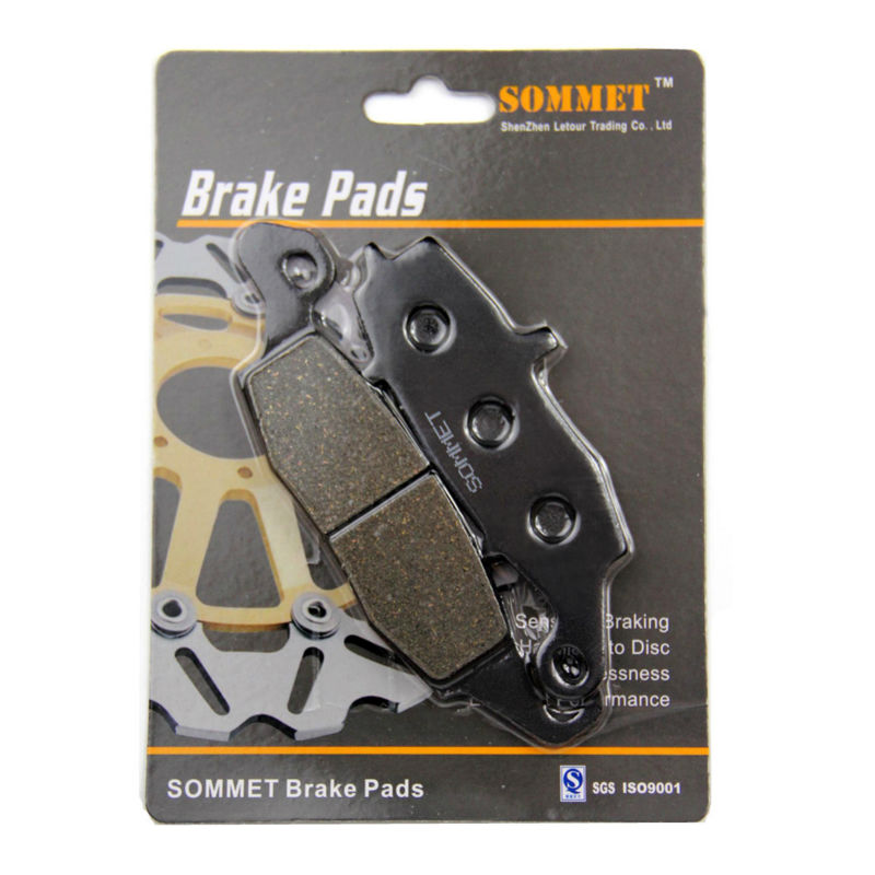 SOMMET Motorcycle Front Right Brake Pads Disks for Suzuki <font><b>VL1500</b></font> K Intruder LC (02-04)/VL 1500 C Intruder (05-09) LT231 image