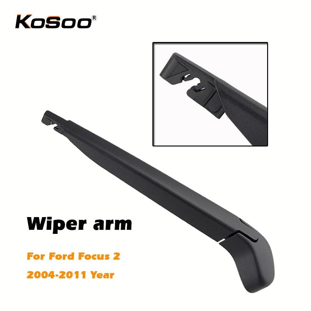 Kosoo env o libre coche escobillas limpiaparabrisas brazo para parabrisas deflector ventana auto accesorios styling para ford