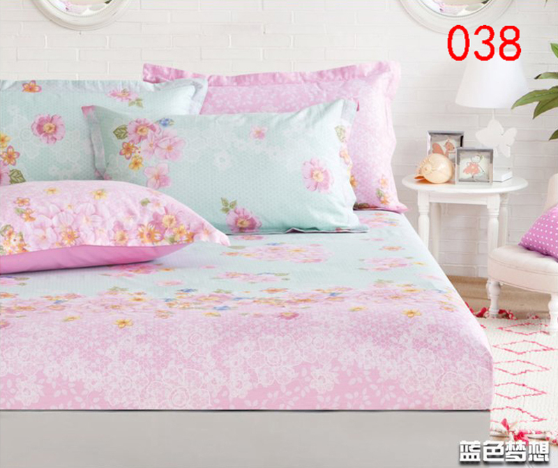 Beige Blue Cotton Ed Sheet Single Double Bed Sheets Cover Mattress Twin Full Queen Bedspread Bedsheet 180 200cm In From Home Garden