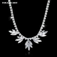 Toucheart модные ожерелья с кристаллами для женщин массивные