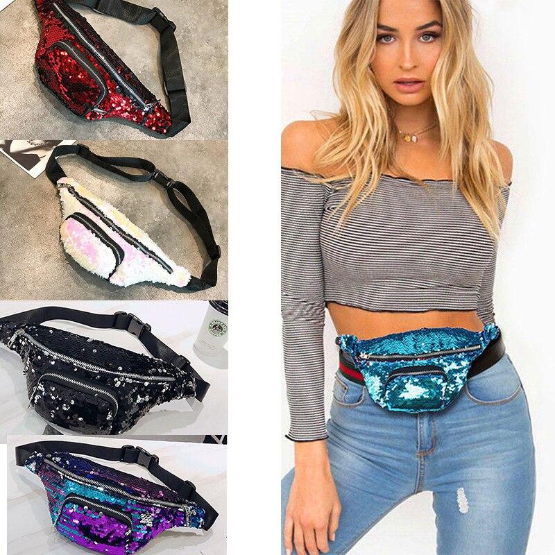 Mens Women Waist Bag Fanny Pack Hip Camping Money Pouch Belt Sport Shoulder Bag