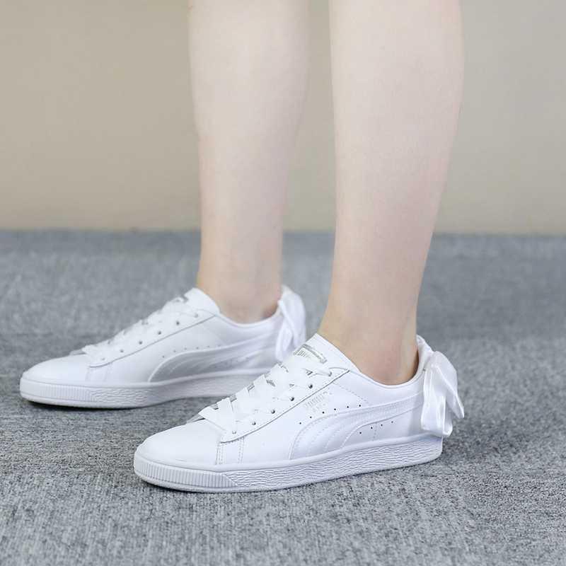 PUMA Women's Basket Bow Wn Sneaker