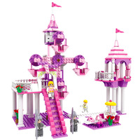 Models Building Toy 13264 362Pcs Dream Princess Fairy Tale Block Castle Girl Fiends 3 In 1