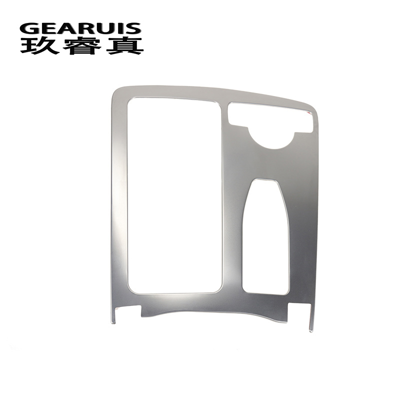 For Mercedes Benz W204 W212 C Class E Class Coupe RHD LHD Interior Water Cup Holder Cover Sticker Panel Frame Trim Car Styling