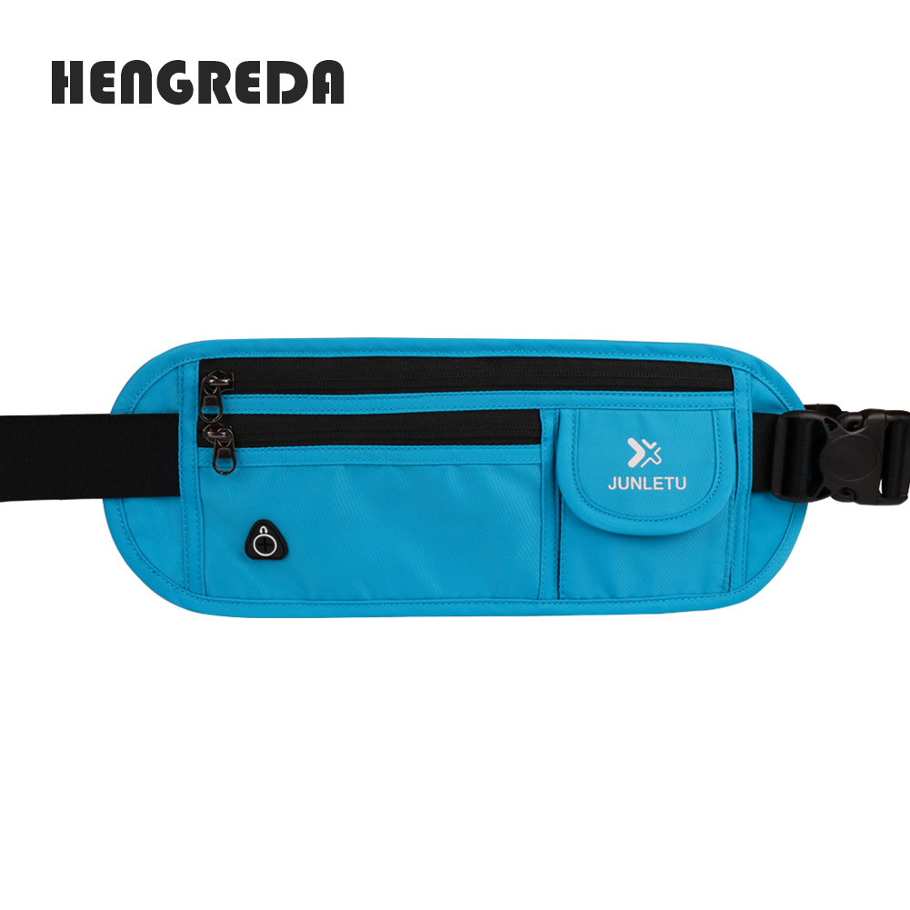 37c805ecefc6 2018 Waist Bag Men Fanny Pack Slim Hengreda Elastic Bounce Free Belt ...