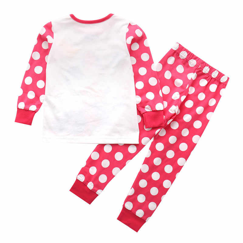 Pyjama Kinderen kleding sets hot selling kids kleding katoen herfst lente babykleding 2 stuks top en bottom nachtkleding thuis dragen