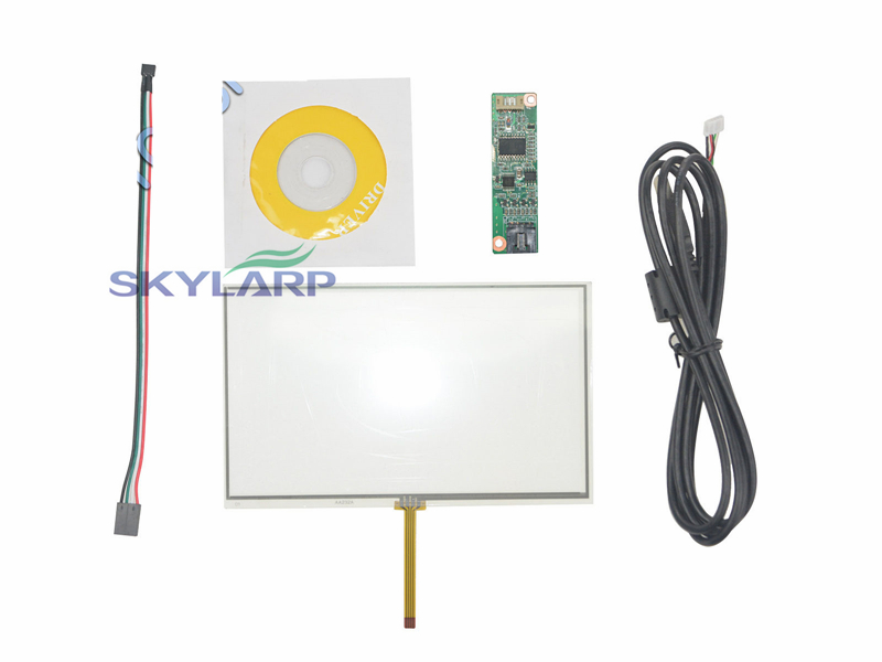 NEW 7 Inch Universal LCD Touch Screen GPS AA232A 164.3x99.5mm With Controller board touch panel Glass Free shipping