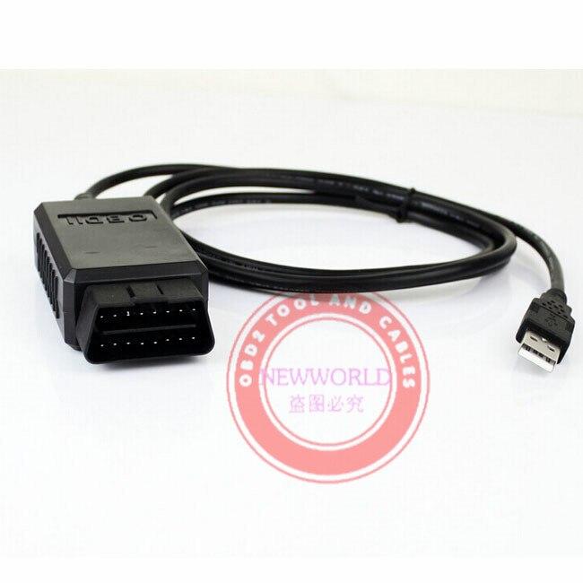 ELM 327 USB с оригинальным FT232RL и PIC18F2480 чип elmconfig программного обеспечения ELM327 USB OBD сканер