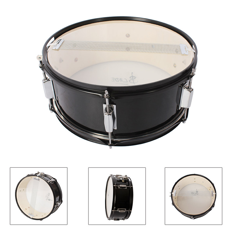 Best Deal 14 inch Drum head Professional Snare Drum Head with Drumstick Drum Wrench Strap for Student Band 14 inch double tone afanti music snare drum sna 109 14 page 7