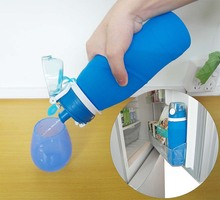 Best Collapsible Water Bottle. 750 ml eco-friendly.