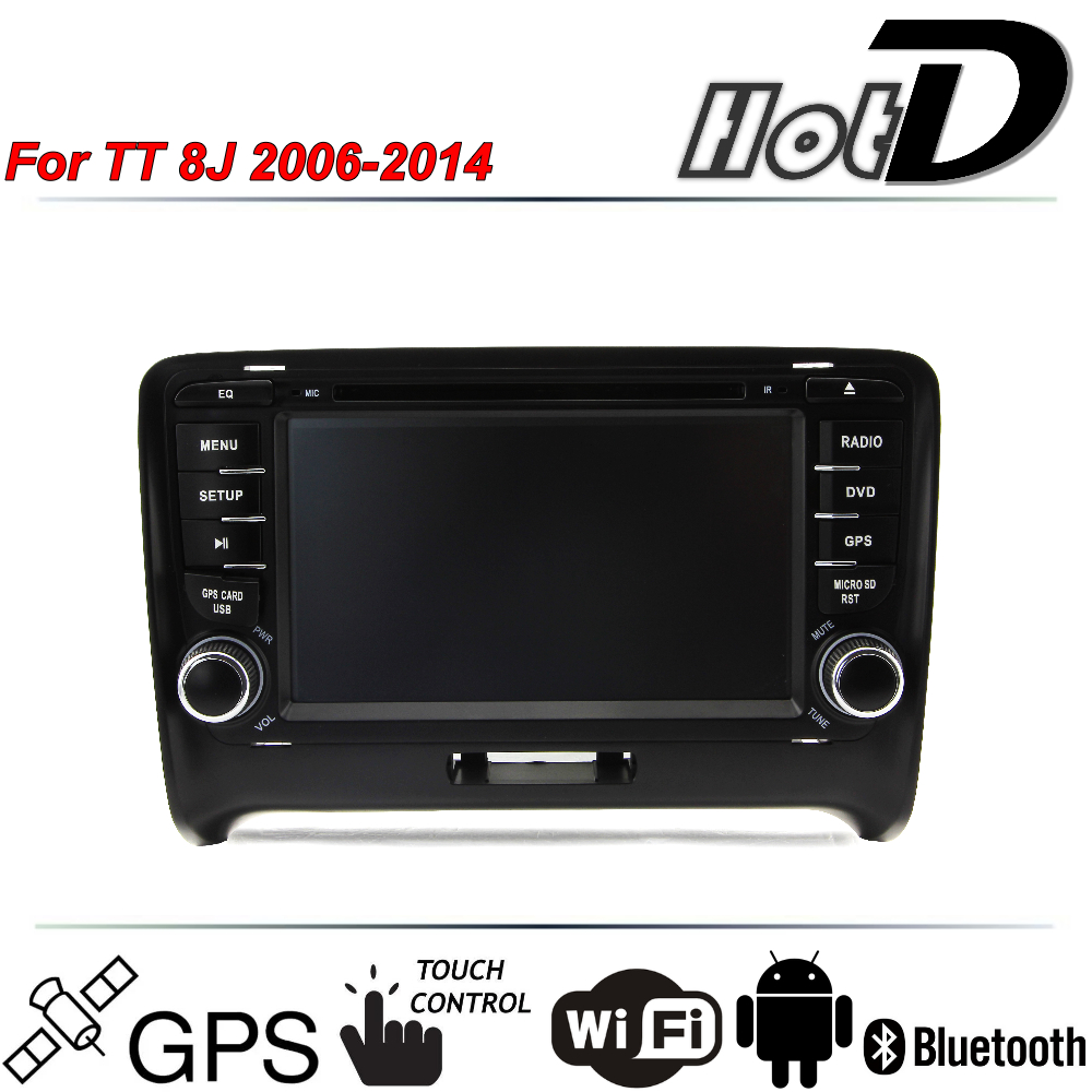 for audi tt 8j 2006 2014 car multimedia dvd hd player gps. Black Bedroom Furniture Sets. Home Design Ideas