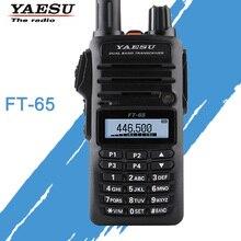 Transceptor de rádio bidirecional do presunto de fm da faixa dupla FT 65R 136/174 400 mhz general walkie talkie yaesu 480
